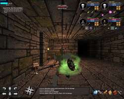 Moonshades: an old-school dungeon crawler role playing game